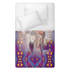 Aztec Purple Pattern Native American Forever Love Duvet Cover (single Size)
