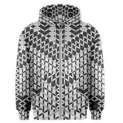 Flower Of Life Grey Men s Zipper Hoodie