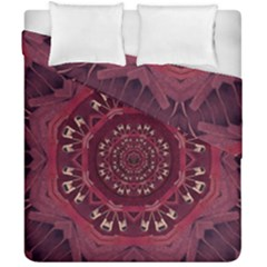 Leather And Love In A Safe Environment Duvet Cover Double Side (california King Size) by pepitasart