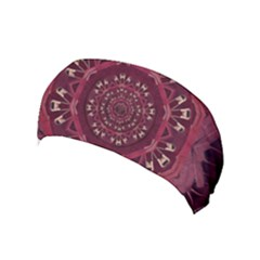 Leather And Love In A Safe Environment Yoga Headband by pepitasart