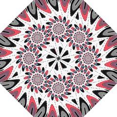 High Contrast Twirl Straight Umbrellas by linceazul