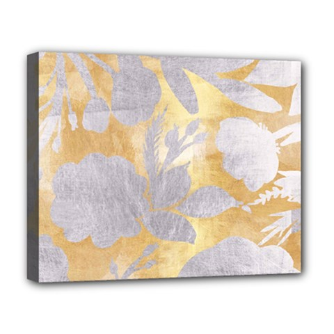 Gold Silver Deluxe Canvas 20  X 16   by 8fugoso