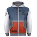 Gundam 08th - Men s Zipper Hoodie