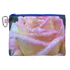 Rose Bag Canvas Cosmetic Bag (xl)