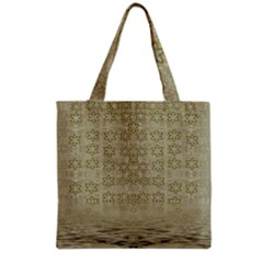 Shooting Stars Over The Sea Of Calm Grocery Tote Bag by pepitasart