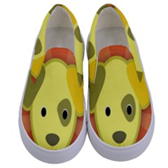 Adoption Animal Bark Boarding Kids  Canvas Slip Ons