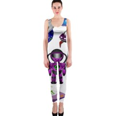 Space Clip Art Aliens Space Craft Onepiece Catsuit by Celenk