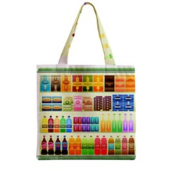 Supermarket Shelf Products Snacks Grocery Tote Bag by Celenk