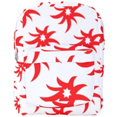 Star Figure Form Pattern Structure Full Print Backpack by Celenk