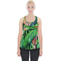 Flowers Art Beautiful Piece Up Tank Top by Celenk