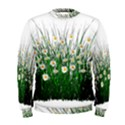 Spring Flowers Grass Meadow Plant Men s Sweatshirt View1