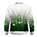 Spring Flowers Grass Meadow Plant Men s Sweatshirt View2