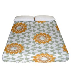 Stamping Pattern Fashion Background Fitted Sheet (queen Size) by Celenk