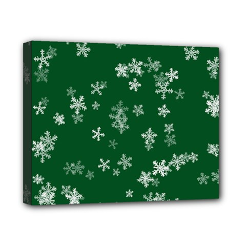 Template Winter Christmas Xmas Canvas 10  X 8  by Celenk