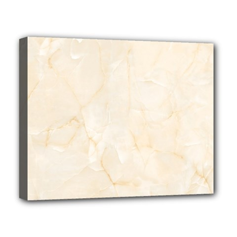 Rock Tile Marble Structure Deluxe Canvas 20  X 16   by Celenk