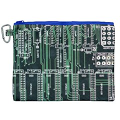 Printed Circuit Board Circuits Canvas Cosmetic Bag (xxl) by Celenk