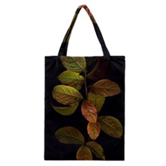Autumn Leaves Foliage Classic Tote Bag by Celenk