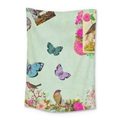 Collage Small Tapestry by 8fugoso