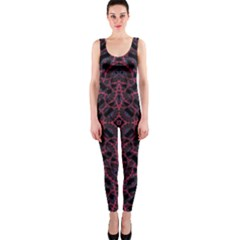 Modern Ornate Pattern Onepiece Catsuit by dflcprints