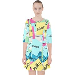 Stickies Post It List Business Pocket Dress by Celenk