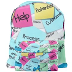 Stickies Post It List Business Giant Full Print Backpack by Celenk