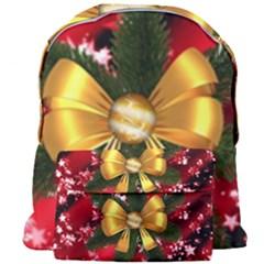 Christmas Star Winter Celebration Giant Full Print Backpack by Celenk