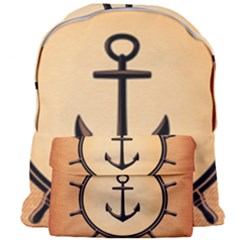 Nautical Anchor Marine Ocean Sea Giant Full Print Backpack by Celenk