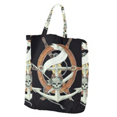 Anchor Seaman Sailor Maritime Ship Giant Grocery Zipper Tote by Celenk