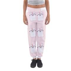 Pattern Cat Pink Cute Sweet Fur Women s Jogger Sweatpants by Celenk