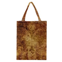 Map Of The World Old Historically Classic Tote Bag