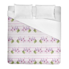 Floral Pattern Duvet Cover (full/ Double Size) by SuperPatterns