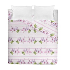 Floral Pattern Duvet Cover Double Side (full/ Double Size) by SuperPatterns