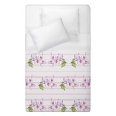 Floral Pattern Duvet Cover (single Size) by SuperPatterns