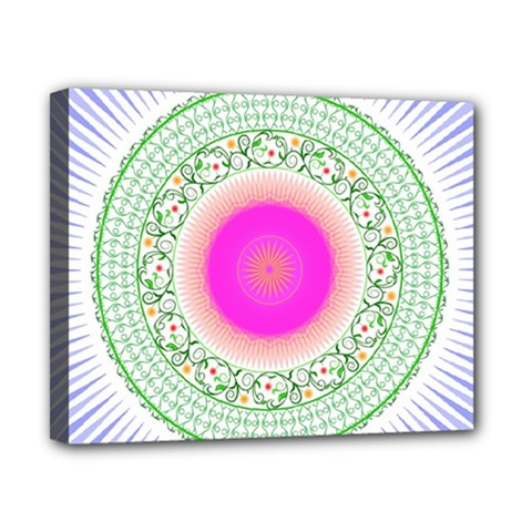 Flower Abstract Floral Canvas 10  X 8  by Celenk