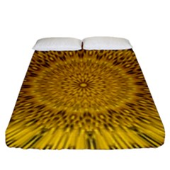 Pattern Petals Pipes Plants Fitted Sheet (king Size) by Celenk