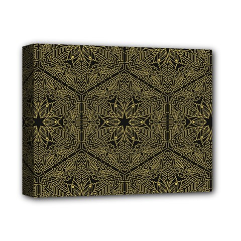 Texture Background Mandala Deluxe Canvas 14  X 11  by Celenk