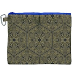 Texture Background Mandala Canvas Cosmetic Bag (xxxl) by Celenk