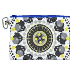 Mandala Geometric Design Pattern Canvas Cosmetic Bag (xl) by Celenk