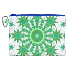 Mandala Geometric Pattern Shapes Canvas Cosmetic Bag (xl) by Celenk