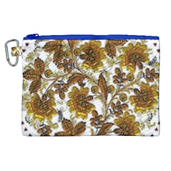 Mandala Metallizer Art Factory Canvas Cosmetic Bag (xl) by Celenk
