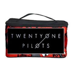 Twenty One Pilots Pattern Cosmetic Storage Case by Onesevenart