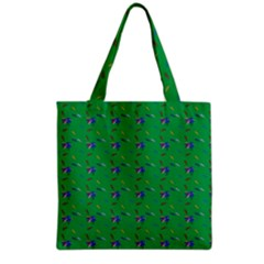 Bird Blue Feathers Wing Beak Grocery Tote Bag by Celenk