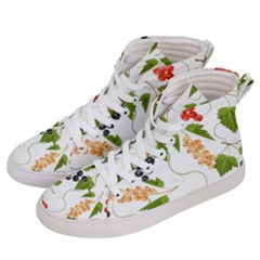 Juicy Currants Women s Hi Top Skate Sneakers by TKKdesignsCo