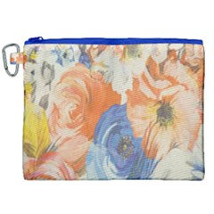 Texture Fabric Textile Detail Canvas Cosmetic Bag (xxl) by Celenk