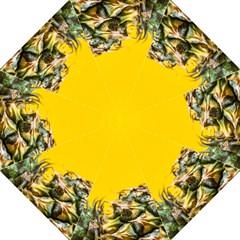 Pineapple Raw Sweet Tropical Food Straight Umbrellas by Celenk