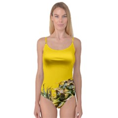 Pineapple Raw Sweet Tropical Food Camisole Leotard  by Celenk