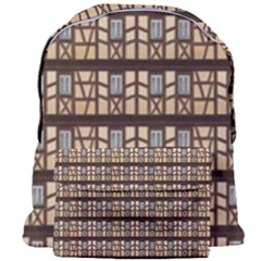 Window Facade Truss Hauswand Giant Full Print Backpack