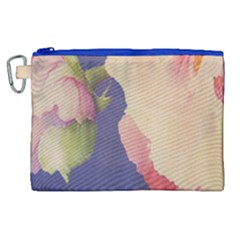 Fabric Textile Abstract Pattern Canvas Cosmetic Bag (xl) by Celenk