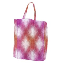 Background Texture Pattern 3d Giant Grocery Zipper Tote by Celenk