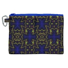 Background Texture Pattern Canvas Cosmetic Bag (xl) by Celenk
